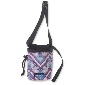 KAVU Peak Seeker Chalk Bag purple ikat